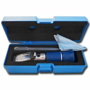 Agtec Portable Refractometer With Copper Atc 45 82 Brix