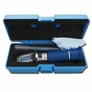 Agtec Portable Refractometer With Copper Atc 0 32 Brix