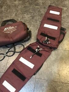 Trauma Air Pants Life Support Products W bag Used Untested Fs