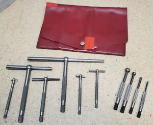 Lufkin No 79 l Telescoping Gages 5 16 To 6 W Starrett No 829 Hole Gages