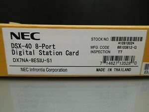 New Nec Dsx 40 Dx7na 8esiu s1 1091002 8 port Digital Station Card
