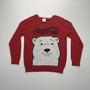 Coca Cola Women's Large Chirstmas Sweater