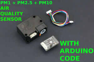 Air Monitor Quality Sensor Arduino Pm1 Pm2 5 Pm10 Formaldehyde Temp Humidity