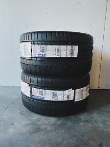 Michelin Pilot Super Sport 285 35zr18 Brand New Production Date 2 Tires Set