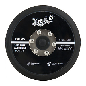 Meguiar s 5 Soft Buff Da Backing Plate use W Mt300 Dual Action Speed Polisher