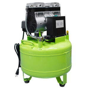 40l Dental Medical Noiseless Oil Free Oilless Air Compressor Motors For 2 Chairs
