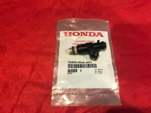 New Genuine Honda Fuel Injector Injection Assembly Civic Fit Oem 16450 rna a01