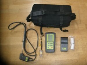 Tpi 709 Combustion Analyzer W a740 Infrared Printer