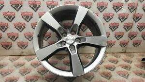 2010 2012 Chevrolet Camaro Ss Oem 20x9 Sterling Silver 5 Spoke Wheel 92230893