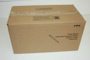 Fisherbrand 13 678 11f Sterile Polystyrene Serological Pipets 50 Ml Box Of 100