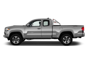 Black Horse For 2015 19 Toyota Tacoma Stainless Roll Bar Bed Rack Cargo Rb003ss