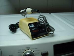 Ok Industries Sa g 75 Temperature Controlled Soldering Iron System Decent Cond