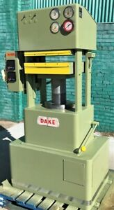 75 Ton Dake Hydraulic 4 Post Platen Molding Press