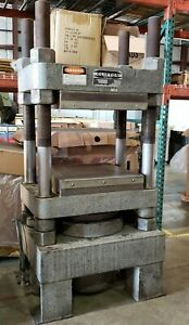 150 Ton Clifton 4 Post Hydraulic Molding Platen Press