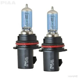Piaa 23 10197 9007 hb5 Replacement Bulb White Hybrid Fits 05 16 Nissan 2 Pc