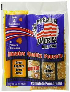 Great Western Premium America Dual Pack Popcorn 48 Count pack Of 48