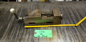 4 Kurt Ii Pt 400 Machine Vise With Crank No Jaws Vice 16 Shelf Green 9
