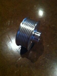 2 90 8 Rib Supercharger Pulley For Vortech 20mm Bore Powerdyne Scorpion Vw