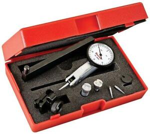 Starrett 12305 Dial Test Indicator With Dovetail Mount And 4 Attachments 2 Extra