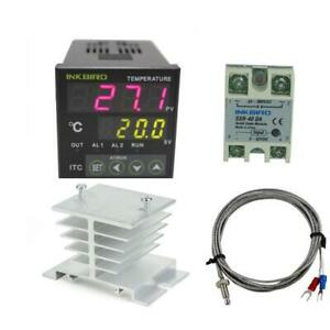 Inkbird Ac 100 To 220v Itc 100vh Outlet Digital Pid Thermostat Temperature