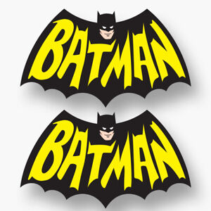 2x Batman Sticker Decal Vinyl Hero Dark Knight Car Truck Wall Laptop Classic
