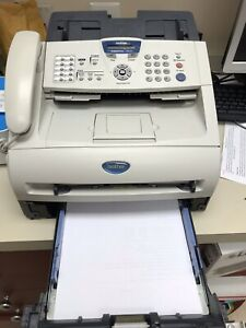 Fax copy phone Brother Intellifax 2820 Laser Fax Machine With 2 Toners Gret Buy