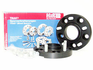 H r 20mm Drm Bolt on Wheel Spacers For Land Rover 5x120 72 5 14x1 5 black