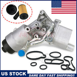 Oil Cooler Assembly 55566784 For Chevrolet Cruze Sonic Trax Buick Encore L4 1 4l