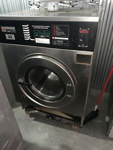 Ipso Washer 18lb No Card System 220v 3ph 100 Working