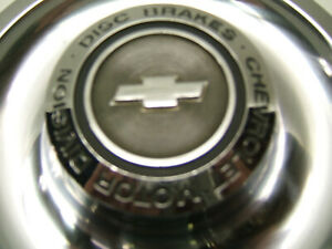 Oe Chevrolet Motor Division Disc Brake Rally Wheel Center Caps originals