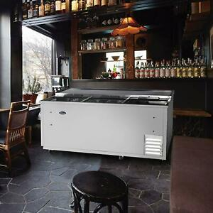 Atosa 80 Horizontal Stainless Steel Commercial Beer Wine Drink Back Cooler