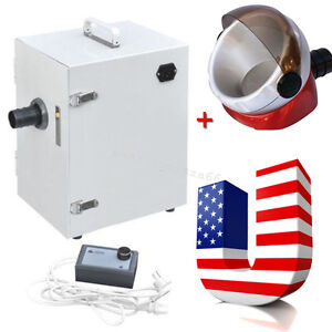 Ups dental Single row Dust Collector Collecting Vacuum Cleaner Dental Lab Use
