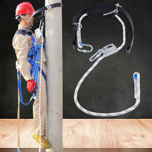 Safety Harness Lanyard Roof Climbing Fall Protection Construction Anti drop Belt