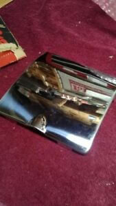 1950 1951d Ford Chrome A Door Gas Door Guard Nos D 8 19