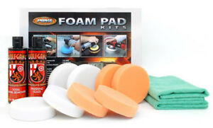 Wolfgang Car Care Swirl Remover Buffing Pad Kit For Cyclo Polishers Wg 4000