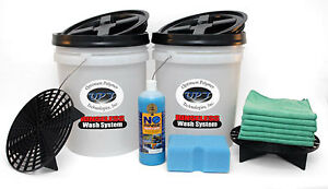 Optimum No Rinse Wash Shine Two Bucket Wash System Opt 2bws