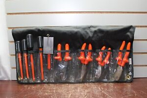 Certified Insulated Products cip Electrician Tool Set 9 piece 1000v