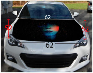 Abstract Girl Hood Wrap Sticker Vinyl Decal Car Truck Suv Graphic