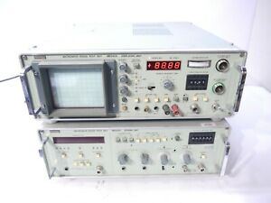 Anritsue Microwave Radio Test Set Me645a Displaying Unit And Sending Unit