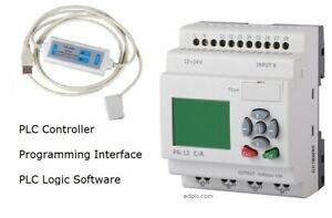 Plc Starter Kit Programmable Logic Controller Software Usb Interface