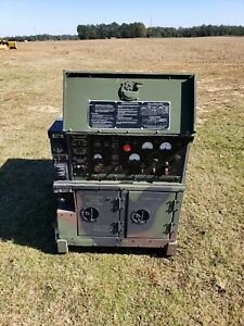 Mep 802a 5kw Diesel Tactical Quiet Generator Set 240 208 120v 1 Or 3 Phase 234hr