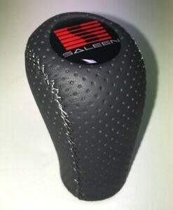 Gear Shift Knob Fits For Ford Mustang Saleen Mt 5 6 Speed Anthracite Perforated
