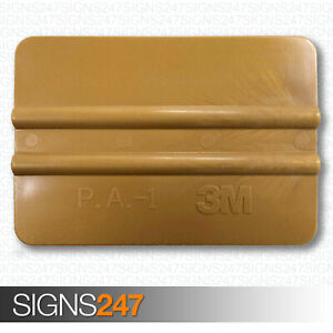 3m Gold Squeegee Vinyl Fitting Applicator Vehicle Wrap Tool 71602 Pa1 g