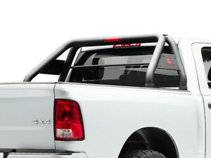 Black Horse For 2007 2020 Chevy Silverado Stainless Roll Bed Bar Rb001ss