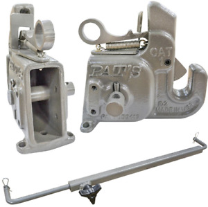 3 Point Quick Change Hitch Category 2 With Stabilizer Bar Tractor Connect System