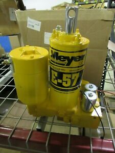 Meyer Snow Plow E57h E 57h Hydraulic Plow Pump Sand Blasted Complete Rebuild