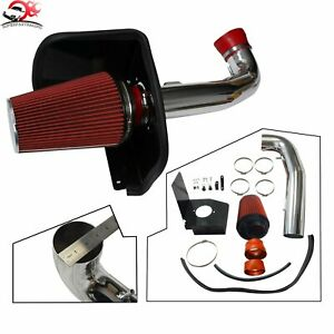 Red Cold Air Intake Heat Shield For 09 13 Gmc Chevy Silverado 1500 4 8l 5 3l