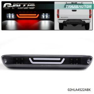 Black For 04 12 Colorado canyon Led Bar Third 3rd Tail Brake Light Cargo Lamp