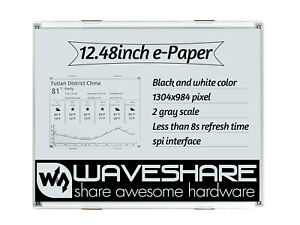 Dual color 12 48inch Raw E paper E ink Display Panel 1304 984 As Price Tag