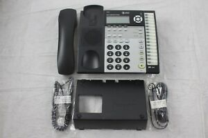 Lot Of 10 At t 1070 4 line Small Business System Phones W Stands Handsets